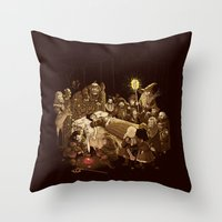 An Unexpected Journey Throw Pillow