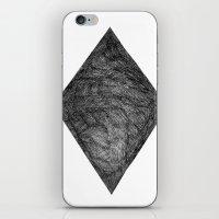 Graphite Diamond iPhone & iPod Skin