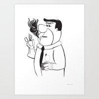 Fred Draper Art Print