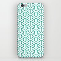 Bishamon In Emerald iPhone & iPod Skin