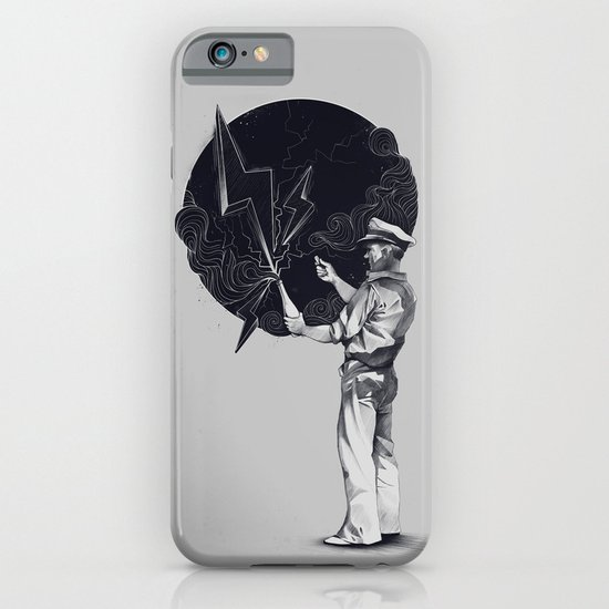 Lightning In A Bottle iPhone & iPod Case