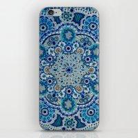 Snowflake Mandala iPhone & iPod Skin
