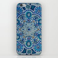 Snowflake Mandala iPhone & iPod Skin