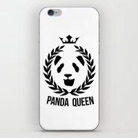 panda queen/king iPhone & iPod Skin