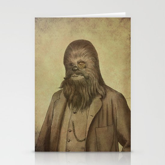 Chancellor Chewman  Stationery Card