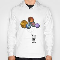 Planet balloon girl Hoody
