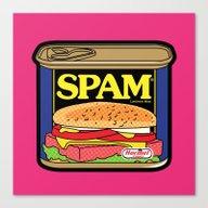 Pop Icon - Mail Box Canvas Print