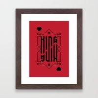The Kings  Framed Art Print