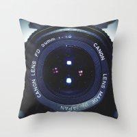 50mm Throw Pillow