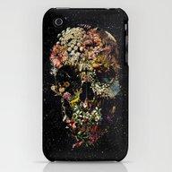 Smyrna Skull iPhone (3g, 3gs) Slim Case