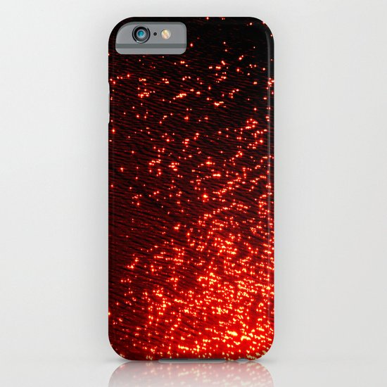 fiery sparkles iPhone & iPod Case