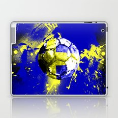 football Sweden  Laptop & iPad Skin