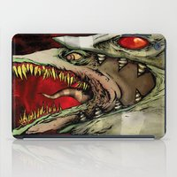 The Worm Of Saturn iPad Case