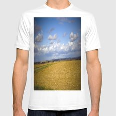 German Countryside Mens Fitted Tee White SMALL