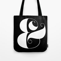Inverse Ampersand Tote Bag