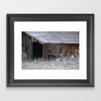 A Time To Reflect  Framed Art Print