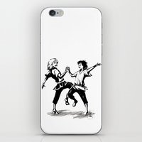 we shall dance iPhone & iPod Skin