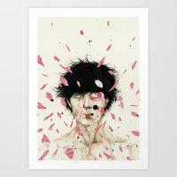 N. Art Print