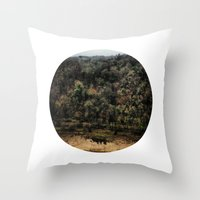 Telescope 11 gorge Throw Pillow