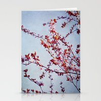 Flowering Tree Stationery Cards