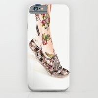 iPhone Cases featuring Shoes II by Carlos-ARL