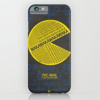 Pac-Man Typography iPhone 6 Slim Case