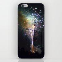 Fireworks II iPhone & iPod Skin