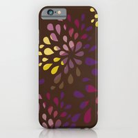 iPhone & iPod Case featuring Dark drops by Eltina Giannopoulou