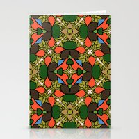 Retro Orange Stationery Cards