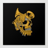Real Brass Canvas Print