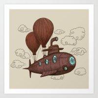 The Fantastic Voyage Art Print