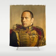 Dwayne (The Rock) Johnso… Shower Curtain