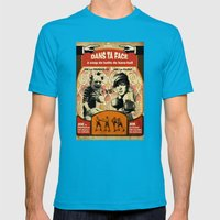 Boxe Mens Fitted Tee Teal SMALL