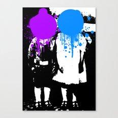Twin Psychology Canvas Print