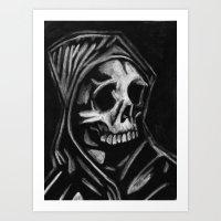 Blind & Dead Art Print