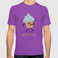 Muffin to Lose Mens Fitted Tee Ultraviolet SMALL