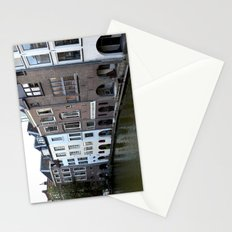 Water and bricks Stationery Cards