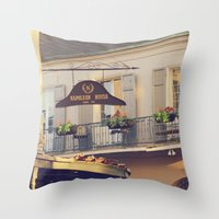 Napoleon Corner Throw Pillow