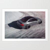 Liberty Walk BMW M3 Art Print