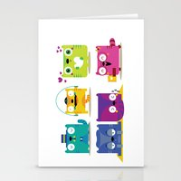 Le Cats Stationery Cards