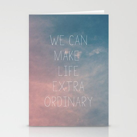 Extraordinary I Stationery Card
