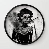 Gra Smierci Wall Clock