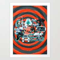 Blast From The Past Art Print
