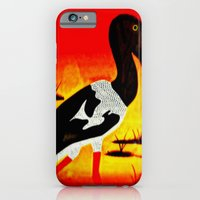 Bird In Pond iPhone 6 Slim Case