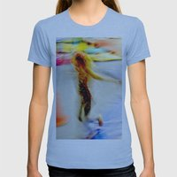 Kinetic Youth Womens Fitted Tee Athletic Blue SMALL