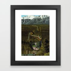 As For the Troubles You Will Face, I Can Only Say Good Luck Framed Art Print