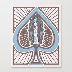 Our Lady of Spades Canvas Print