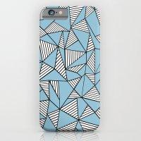 Ab Blocks Blue #2 iPhone 6 Slim Case
