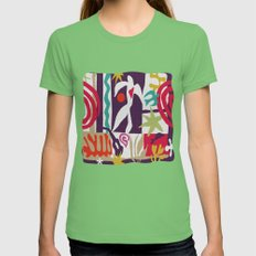 Inspired To Matisse T-sh… Womens Fitted Tee Grass SMALL