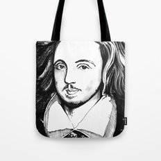 Christopher Marlowe Portrait Tote Bag